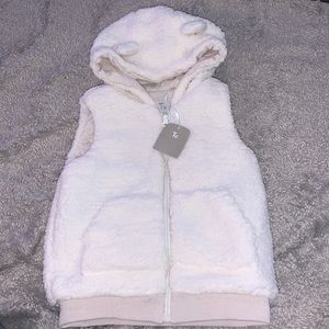 Brand new tu fuzzy vest
